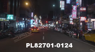 Vimeo clip HD & 4k Driving Plates Taipei, Taiwan PL82701-0124