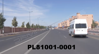 Vimeo clip HD & 4k Driving Plates Marrakech, Morocco PL81001-0001