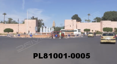 Vimeo clip HD & 4k Driving Plates Marrakech, Morocco PL81001-0005