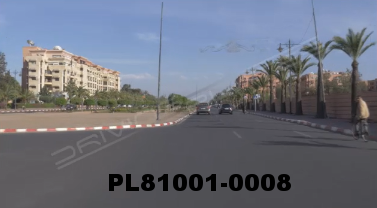 Vimeo clip HD & 4k Driving Plates Marrakech, Morocco PL81001-0008