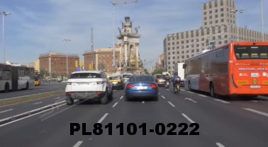 Vimeo clip HD & 4k Driving Plates Barcelona, Spain PL81101-0222