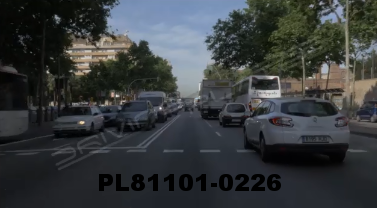 Vimeo clip HD & 4k Driving Plates Barcelona, Spain PL81101-0226