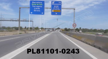 Vimeo clip HD & 4k Driving Plates Barcelona, Spain PL81101-0243