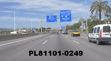 Vimeo clip HD & 4k Driving Plates Barcelona, Spain PL81101-0249