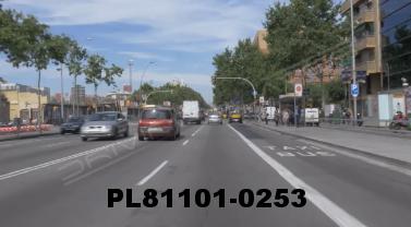 Vimeo clip HD & 4k Driving Plates Barcelona, Spain PL81101-0253