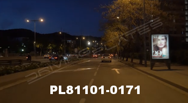 Vimeo clip HD & 4k Driving Plates Barcelona, Spain PL81101-0171