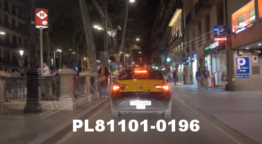 Vimeo clip HD & 4k Driving Plates Barcelona, Spain PL81101-0196