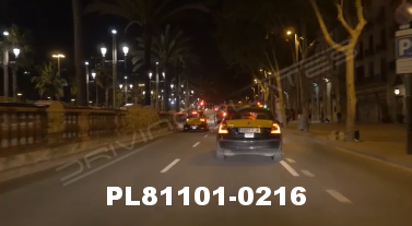 Vimeo clip HD & 4k Driving Plates Barcelona, Spain PL81101-0216