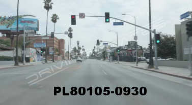 Vimeo clip HD & 4k Driving Plates Los Angeles, CA PL80105-0930