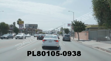 Vimeo clip HD & 4k Driving Plates Los Angeles, CA PL80105-0938