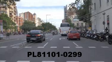 Vimeo clip HD & 4k Driving Plates Barcelona, Spain PL81101-0299