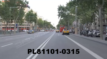 Vimeo clip HD & 4k Driving Plates Barcelona, Spain PL81101-0315