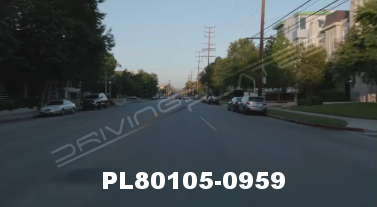 Vimeo clip HD & 4k Driving Plates Studio City, CA PL80105-0959