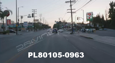 Vimeo clip HD & 4k Driving Plates Studio City, CA PL80105-0963
