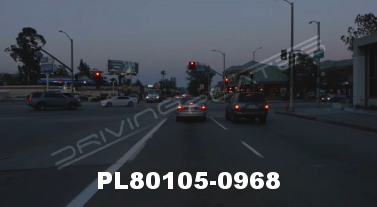 Vimeo clip HD & 4k Driving Plates Studio City, CA PL80105-0968