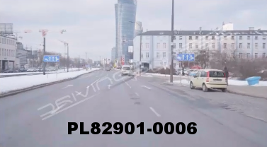 Vimeo clip HD & 4k Driving Plates Warsaw, Poland PL82901-0006