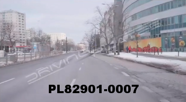 Vimeo clip HD & 4k Driving Plates Warsaw, Poland PL82901-0007