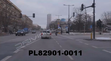 Vimeo clip HD & 4k Driving Plates Warsaw, Poland PL82901-0011