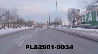 Vimeo clip HD & 4k Driving Plates Warsaw, Poland PL82901-0034