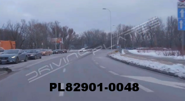 Vimeo clip HD & 4k Driving Plates Warsaw, Poland PL82901-0048
