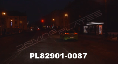 Vimeo clip HD & 4k Driving Plates Warsaw, Poland PL82901-0087