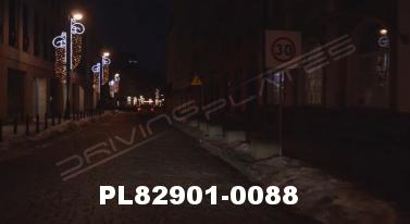 Vimeo clip HD & 4k Driving Plates Warsaw, Poland PL82901-0088