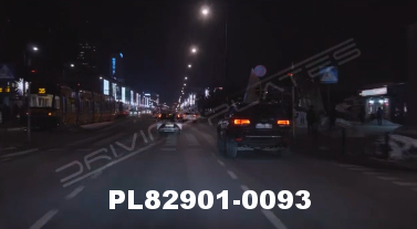 Vimeo clip HD & 4k Driving Plates Warsaw, Poland PL82901-0093