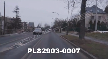 Vimeo clip HD & 4k Driving Plates Częstochowa, Poland PL82903-0007