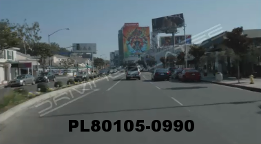 Vimeo clip HD & 4k Driving Plates Los Angeles, CA PL80105-0990