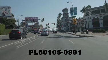 Vimeo clip HD & 4k Driving Plates Los Angeles, CA PL80105-0991