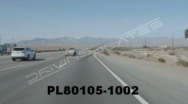Vimeo clip HD & 4k Driving Plates Palm Springs, CA Day PL80105-1002