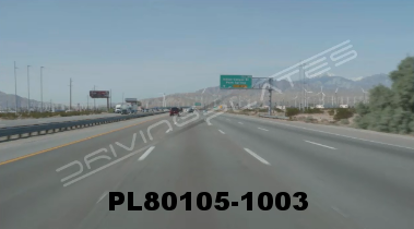 Vimeo clip HD & 4k Driving Plates Palm Springs, CA Day PL80105-1003