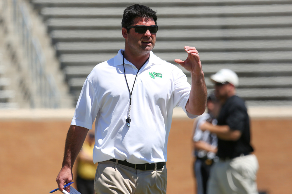 Mean Green fans got their first opportunity to see new head coach Seth Litrell's team in action