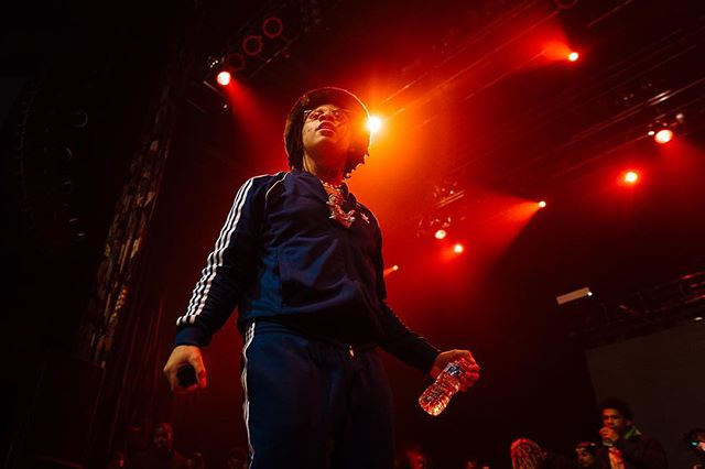 Trippie Redd's not that great live but he's still endlessly fascinating. Check out the @dallasobserver for a review or link in bio.