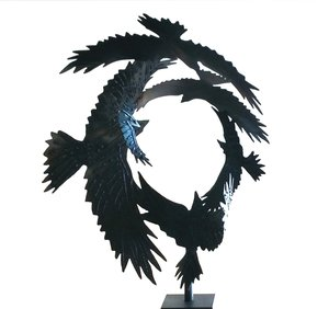 Circling Ravens