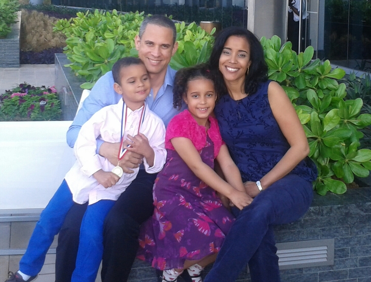 Danilo Rodriguez with Family