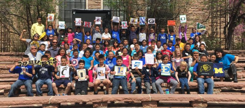 Boulder County Dreamers participate in their annual College Signing Day photo contest.