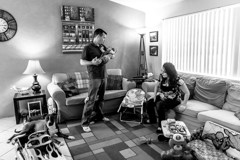Los Angeles Documentary Lifestyle Newborn Photographer | Nicole Gracen