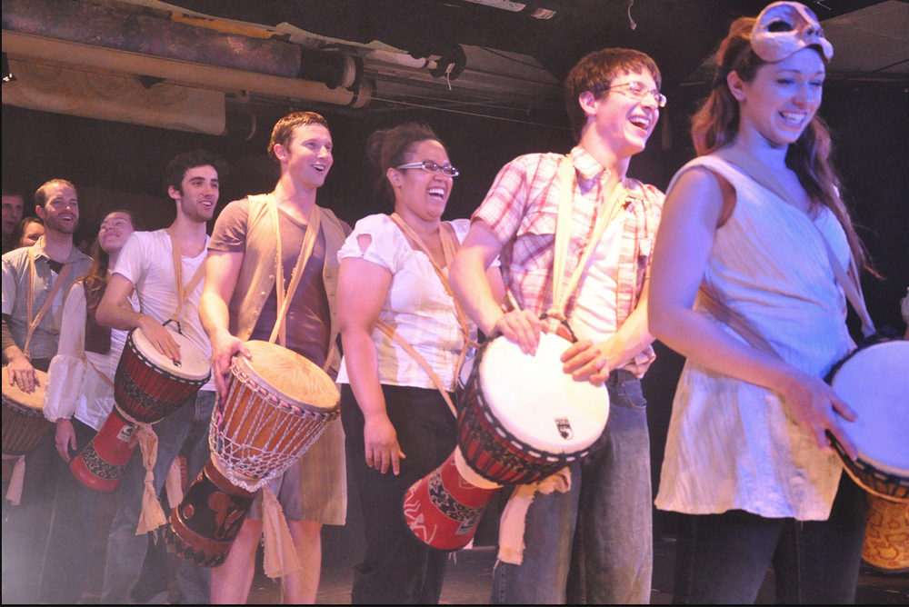 Ensemble in Drum Circle Pandora