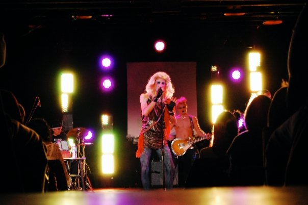 Hedwig in  Hedwig and the Angry Inch  - photo by Sean Wilson
