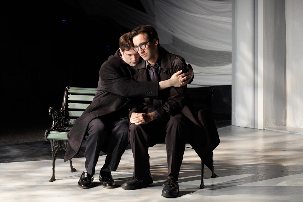 Louis in  Angels in America  - photo by Rich Wagner