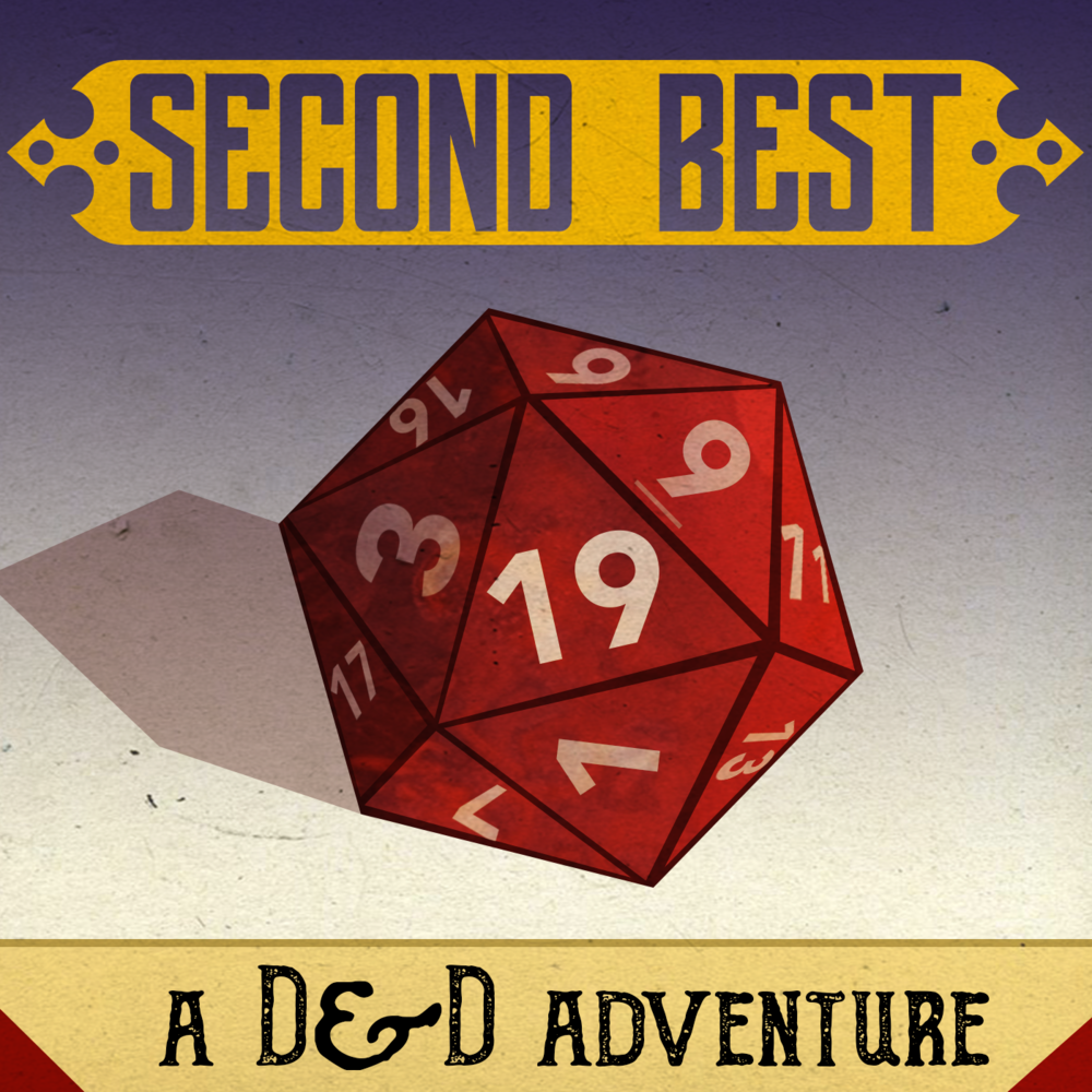 Second Best: A DnD Adventure - Real play D&D comedy podcast created by NYC improvisers. Marty is a cast member as well as co-producer and composer of all the original music on the show! New episodes every other Wednesday. [Second Best is also partially funded by over 25 listeners through Patreon!]