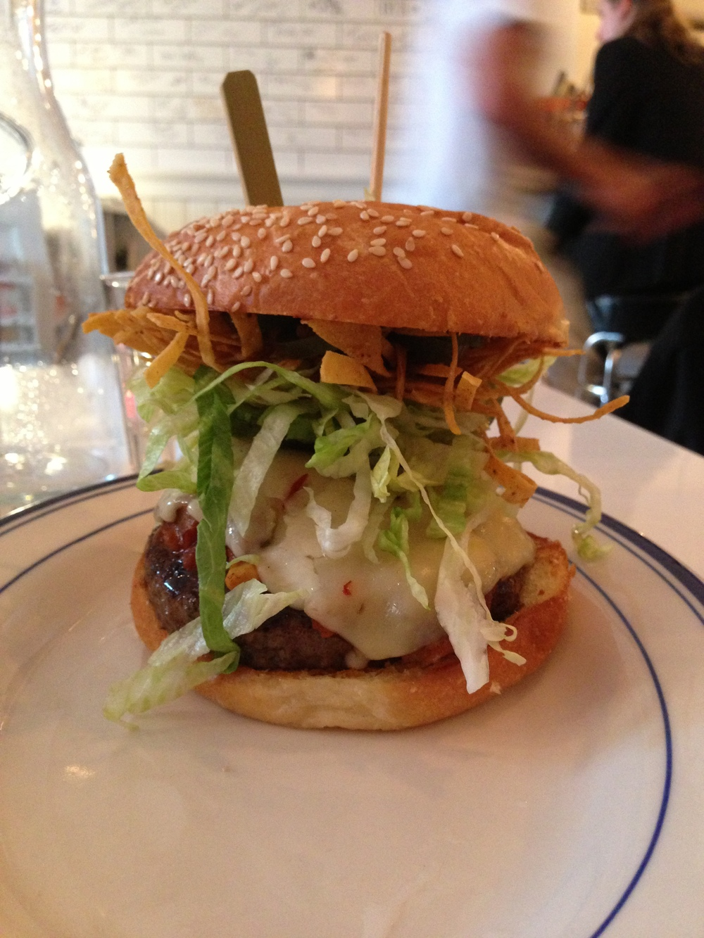 The Mexican Burger
