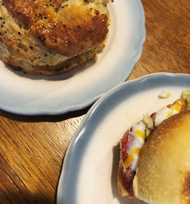 excited to go home, but for sure gonna miss @northbakery's honey pepper biscuits and breakfast sandwiches #dreamy #biscuits #honey #butter #breakfast #sandwich #bakery #providence #rhodeisland #eeeeeats #eater #feedfeed #f52grams #englishmuffin #eggs #college #food