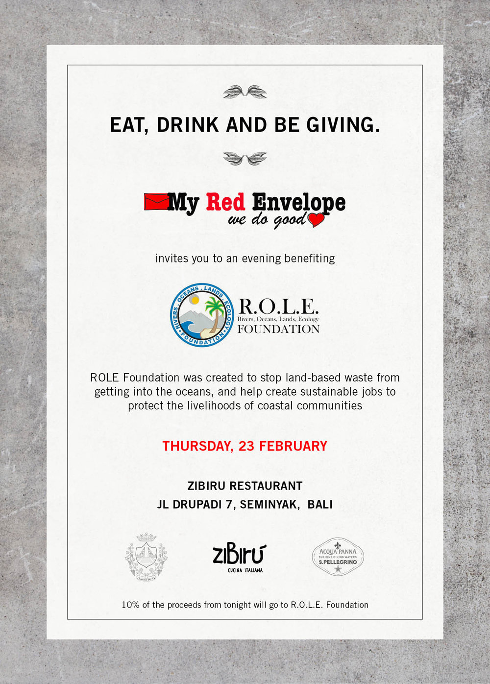 zibiru-italian-restaurant-seminyak-bali-charity-event-role-foundation-my-red-envelope