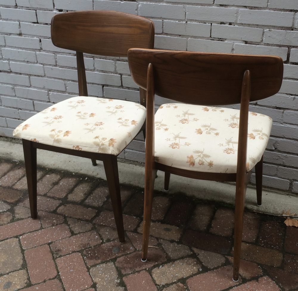 Heywood Wakefield Dining Chairs (set Of Five)