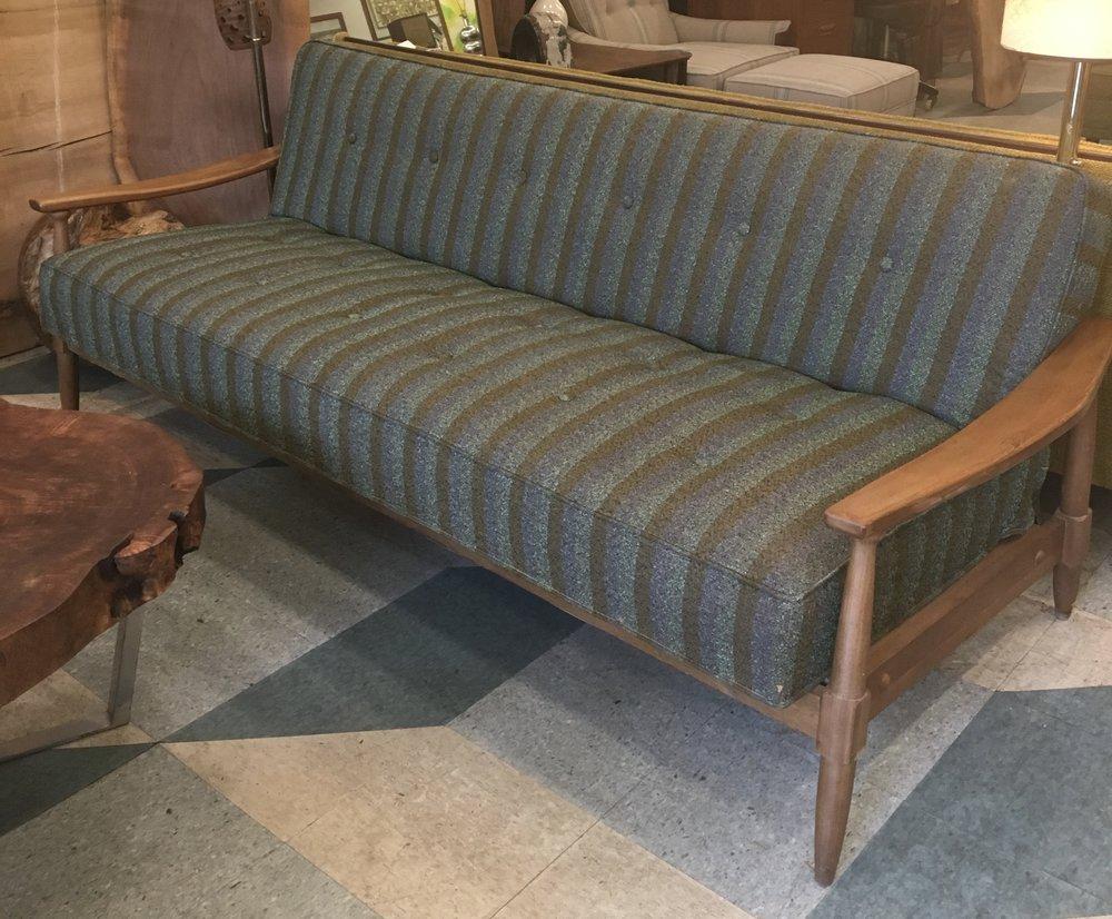Vintage Striped Sofa/Bed