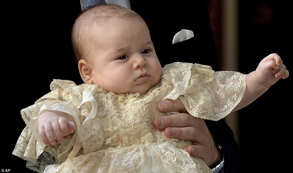 A baby, showing obvious signs of fine-tuning.