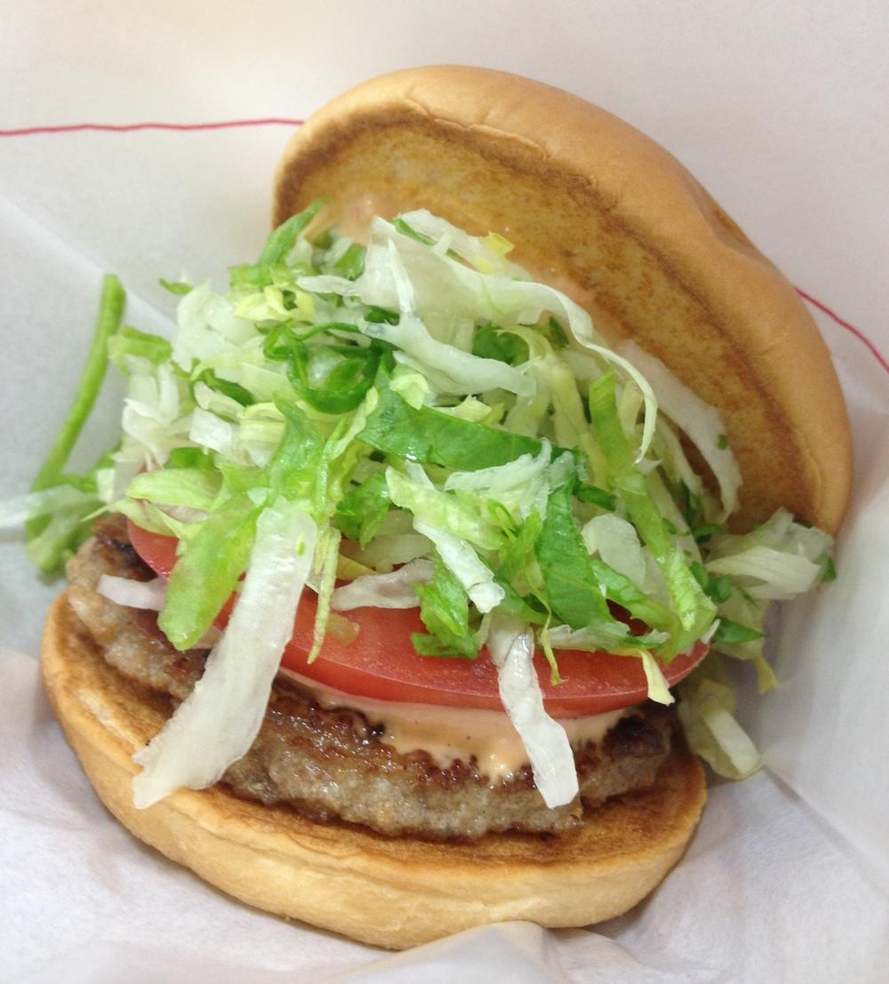 De japanska burgarna är generellt sett godare än McDonalds, om ni frågar mig. Mera smak och mera grönsaker.
