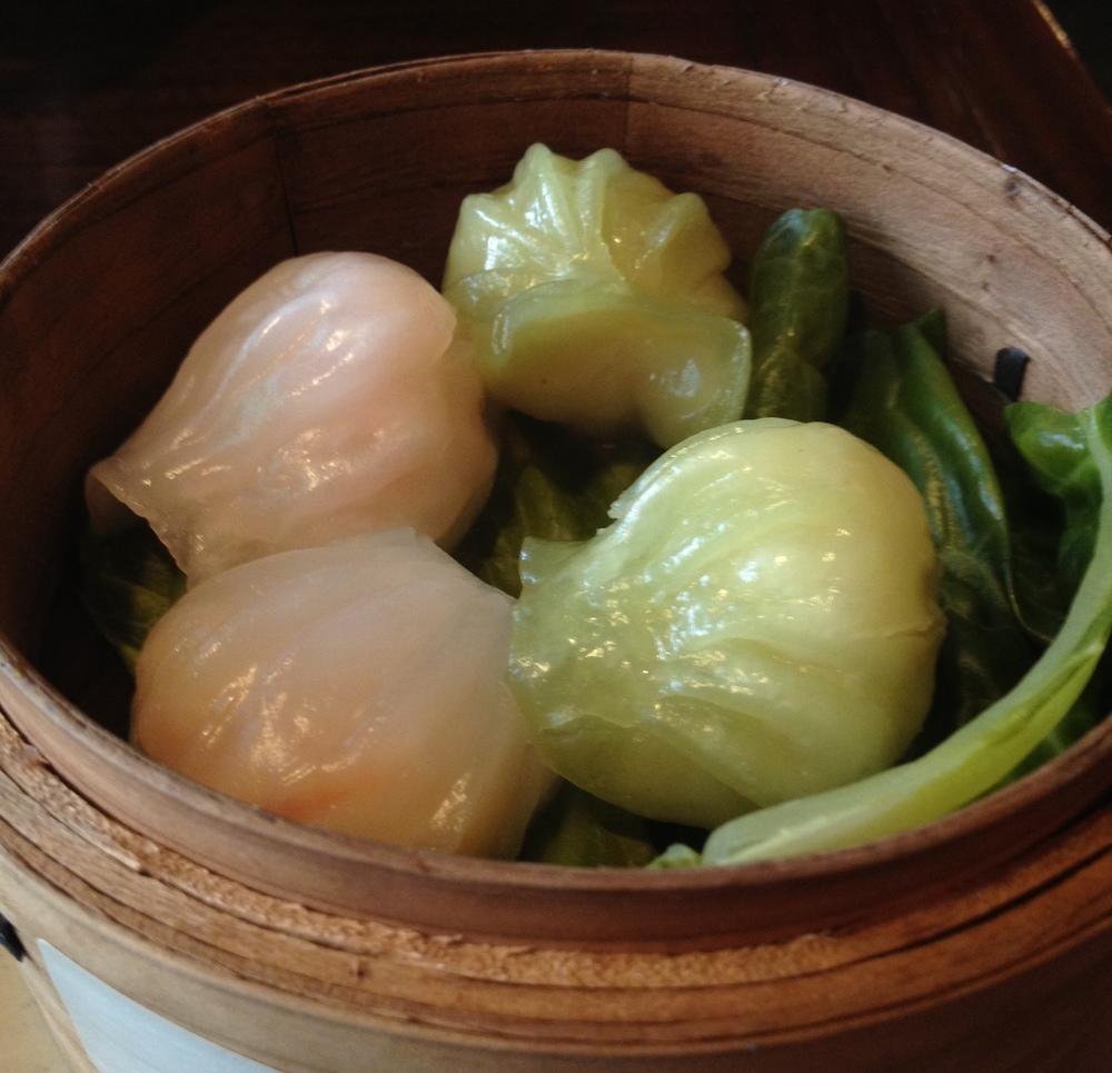 Kinesiska ångkokta degknyten är mums fillibabba.